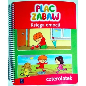 Plac Zabaw Księga Emocji Czterolatek Praca Zbior.