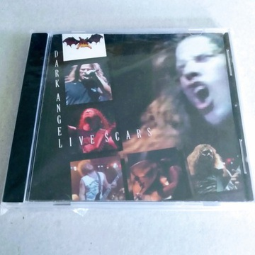 "DARK ANGEL - ""Live Scars"" CD Rare"