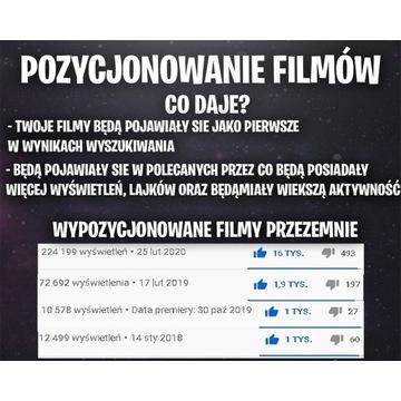 Pozycjonowanie filmu na Youtube + Miniaturka FREE