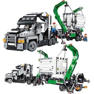 Ciężarówka TECHNICS 1200 elementów - klocki SEMBO