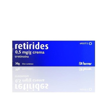 Tretinoina 0,5 mg/g Retirides