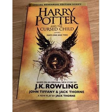 książka Harry Potter and Cursed Child