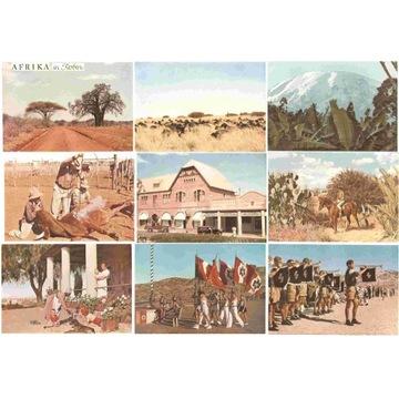 AFRIKA -- FARBBILD-BUCH DEUTSCHEN KOLONIEN -- 1941
