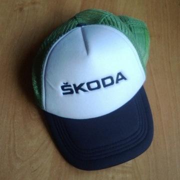 SKODA czapka z daszkiem Trucker Scout WRC + gratis