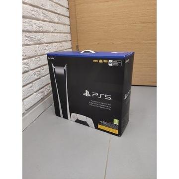 Konsola PlayStation 5 Digital z dwoma padami!