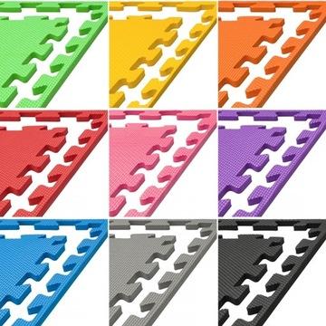 Mata PRO 1cm puzzle piankowa fitness ćwiczeń jogi