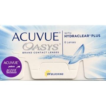 Soczewki Acuvue Oasys -4,50  6szt.+1 GRATIS