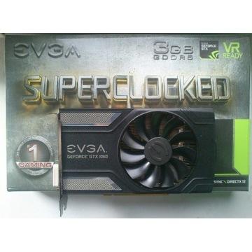 GeForce GTX 1060 3GB EVGA SUPERCLOCKED. Zamiana?