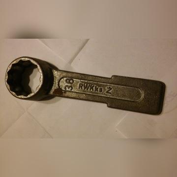Klucz oczkowy udarowy rozm. 38 mm
