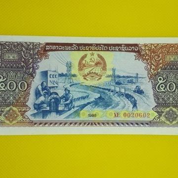 500 -KIP 1988r. LAOS  st.-UNC
