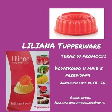 Liliana  Nowy kolor Tupperware +przepisy
