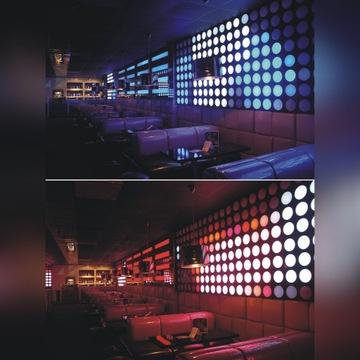 Bańki LED RGB - Zestaw z MADRIX (19,4m2)