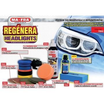 Zestaw do regeneracji reflektorów samochodowych