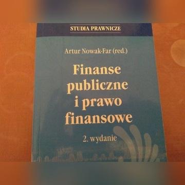 Finanse publiczne i prawo finansowe Nowak Zapadka