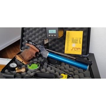 SAM K11 pistolet match wiatrówka FWB Walther Steyr