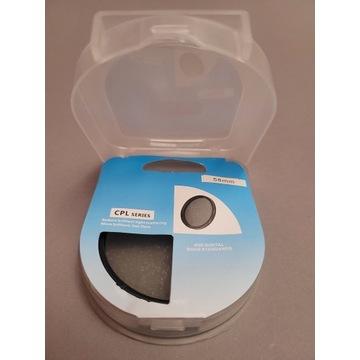 Filtr LENSSO polaryzacyjny kołowy 58 mm