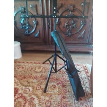 Składany stojak na nuty do gitary+ pokrowiec.