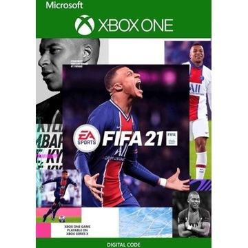 FIFA 21 XONE KLUCZ (BEZ VPN) nie konto!
