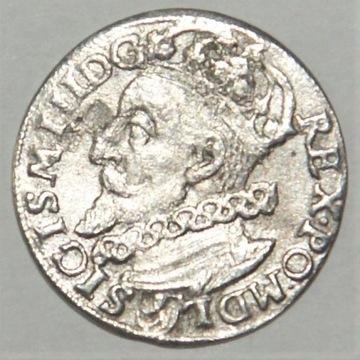 3 Grosze ZYGMUNT III WAZA  1600