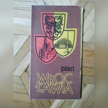 Plan Wrocławia - 1974
