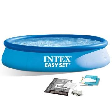 Basen rozporowy 396x84 INTEX! Dostawa gratis.