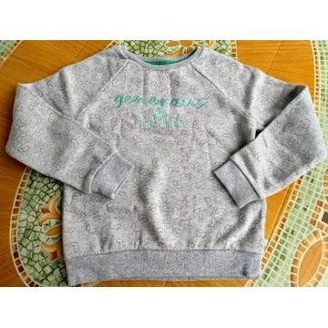 ciepła bluza Okaidi, jak nowa 128 / 8 lat