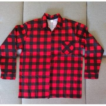 Koszula w kratkę elegancka robocza XL/XXL nowa
