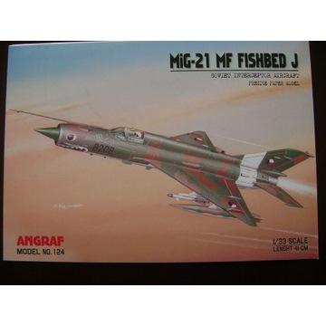MIG-21 MF ,Angraf /Answer , 1:33