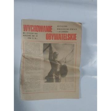 Czasopismo dobre wychowanie PRL 1983
