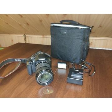 Canon eos 2000d + świetny obiektyw 18-135 stm