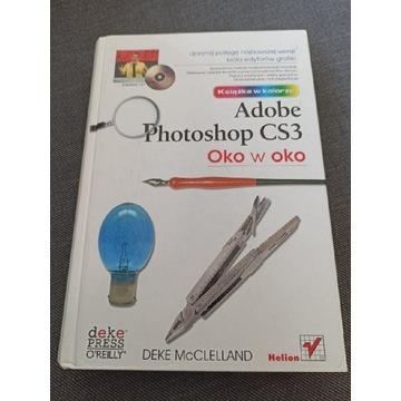 Książka adobe photoshop cs3 + CD oko w oko