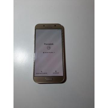 Samsung Galaxy A5 2017 - złoty