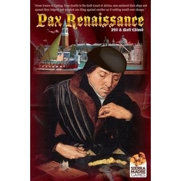 Gra Pax Renaissance + Expansion + BGG Promo Cards