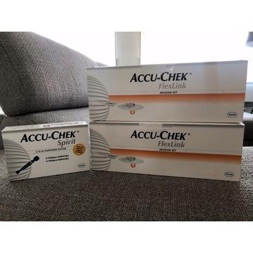 Zestaw infuzyjny Accu-Chek FLexLink 8 mm / 60 cm