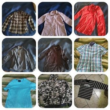 Zestaw koszul chłopięcych rozmiar S /158