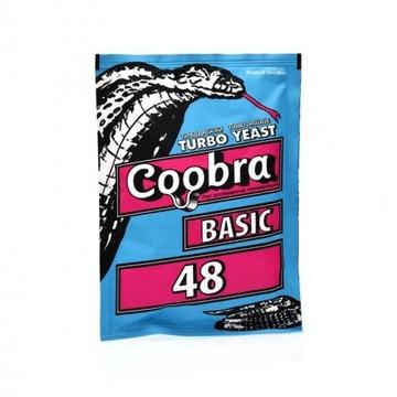 Drożdże gorzelnicze COOBRA BASIC 48 do wódek