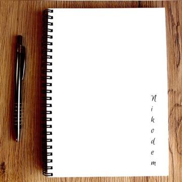 Zeszyt z Imieniem Notes A5 Organizer Pamiętnik