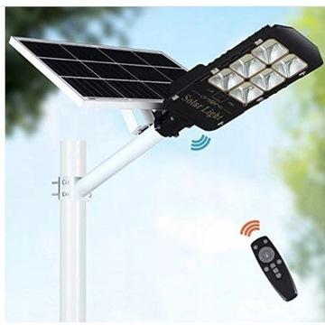 Lampa uliczna LED latarnia SOLARNA 100W + MONTAŻ
