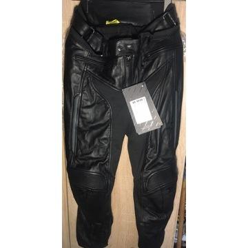 NOWE Spodnie skórzane motocyklowe SHIMA MONACO, S