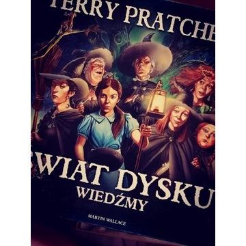 świat dysku WIEDŹMY Terry Pratchett