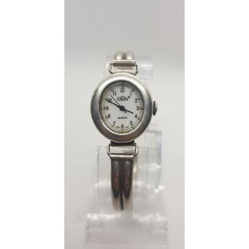 Damski srebrny zegarek Osin srebro 0.925