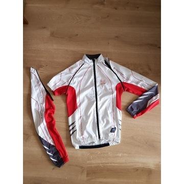 Bluza rowerowa softshel odpinane rękawy