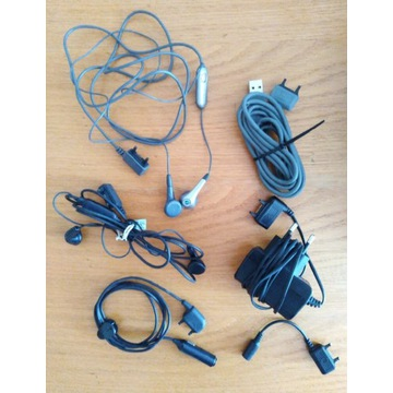 Sony Ericsson akcesoria ładowarka słuchawki usb