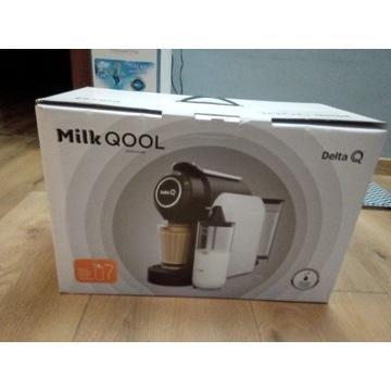 Delta Q milk Qool ekspres kapsułkowy spieniacz