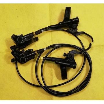 Hamulce Shimano SLX M7100 P+T jak nowe XT xtr