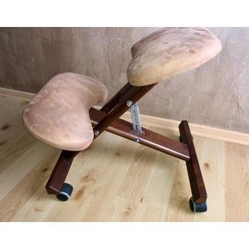Krzesło biurowe typu klękosiad / klęcznik.