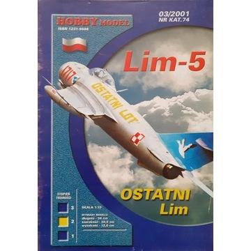 Lim 5 Hobby model. Druk offset. Unikat.