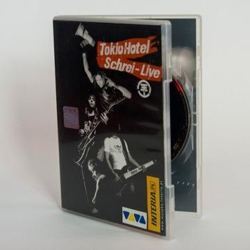 Tokio Hotel: Schrei Live, DVD