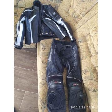Kurtka + spodnie motocyklowe - stan jak nowe