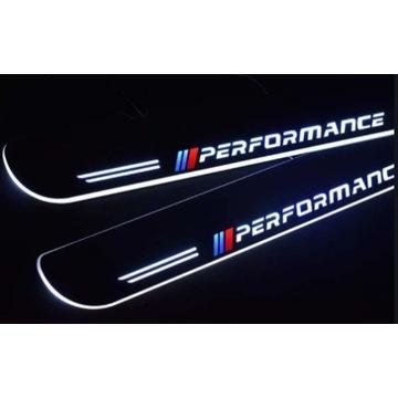 Nakładki na progi LED BMW PERFORMANCE